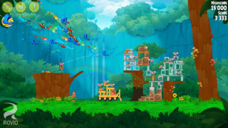 Angry Birds Rio iPhoneアプリ