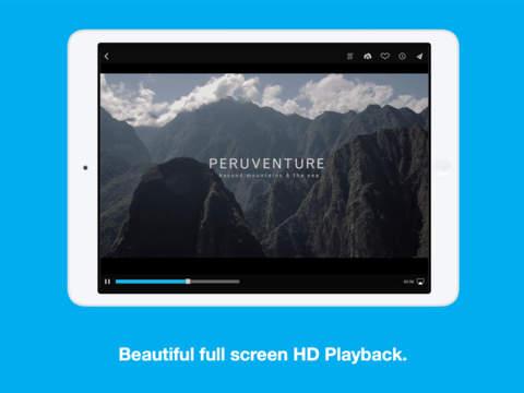 Vimeo iPadアプリ
