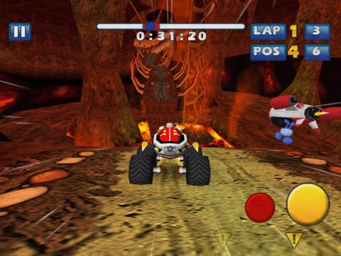 Sonic & SEGA All-Stars Racing iPadアプリ