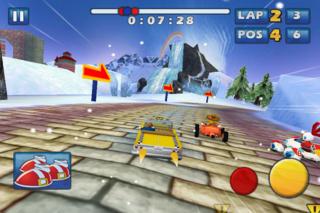 Sonic & SEGA All-Stars Racing iPhoneアプリ