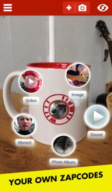 Zappar iPhoneアプリ