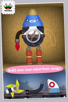 トッカ・ロボット・ラボ (Toca Robot Lab) iPhoneアプリ