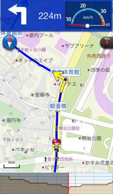 自転車NAVITIME - 自転車ナビ&走行距離&速度 iPhoneアプリ