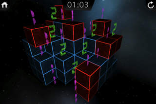 Data Cube : The 3D Minesweeper iPhoneアプリ