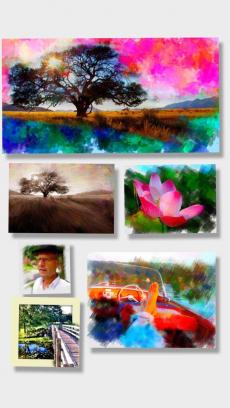 PhotoViva – 写真をブラシで美しい絵画タッチの作品へと変身させる写真編集アプリ iPhoneアプリ