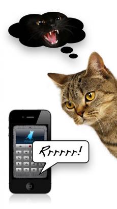 人猫語翻訳機・デラックス iPhoneアプリ