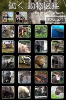 動く!動物図鑑 mini iPhoneアプリ