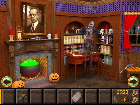 Haunted Halloween Escape iPadアプリ