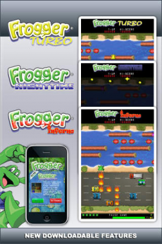 Frogger Free iPhoneアプリ