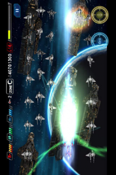 ダライアスバーストSP iPhoneアプリ