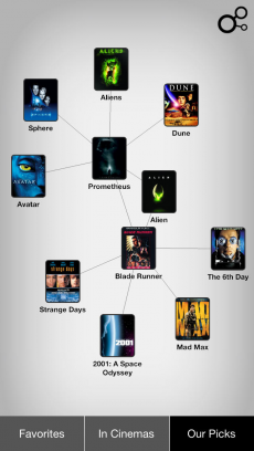 Discovr Movies - discover new movies iPhoneアプリ