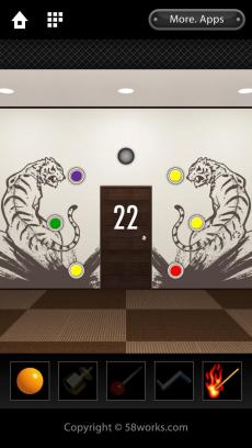 脱出ゲーム DOOORS iPhoneアプリ