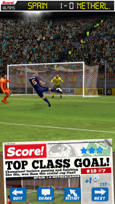 Score! World Goals iPhoneアプリ