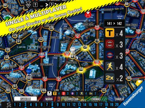 Scotland Yard iPadアプリ