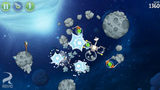 Angry Birds Space iPhoneアプリ