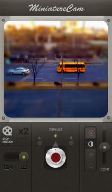 MiniatureCam - TiltShift Generator iPhoneアプリ
