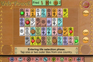 Michael Schacht's Web of Power Card Game: The Duel iPhoneアプリ
