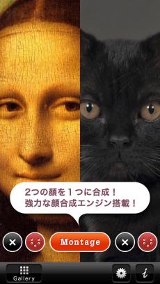 [顔合成] 顔モンタージュ iPhoneアプリ