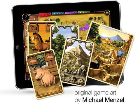 Hacienda HD Family Board Game by Wolfgang Kramer iPadアプリ