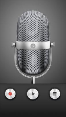 MP3 Voice Recorder Secret+Black Screen iPhoneアプリ