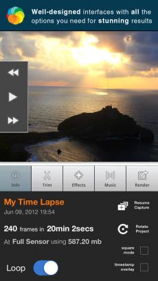 Lapse It Pro iPhoneアプリ