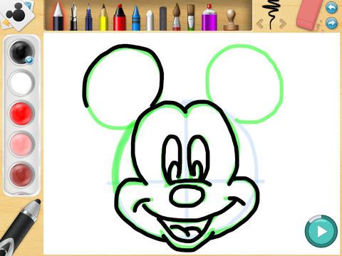 ディズニー・クリエイティビティー・スタジオ iPadアプリ