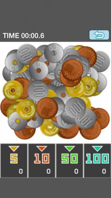 100枚コイン iPhoneアプリ