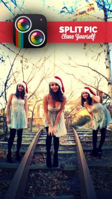 Split Pic 写真コラージュ大量 &ぼかし加工編集 iPhoneアプリ