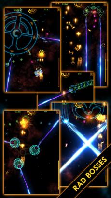 Plasma Sky - a rad retro arcade space shooter iPhoneアプリ