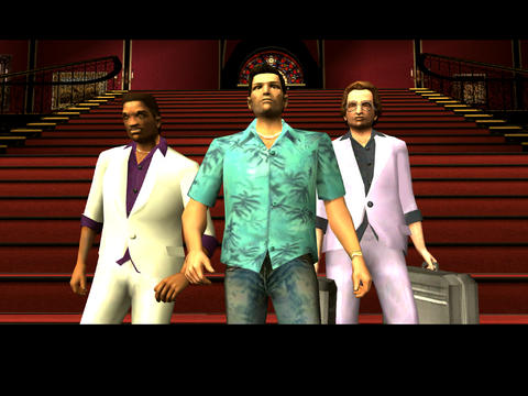 Grand Theft Auto: Vice City iPadアプリ