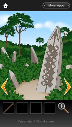 脱出ゲーム Ruins iPhoneアプリ