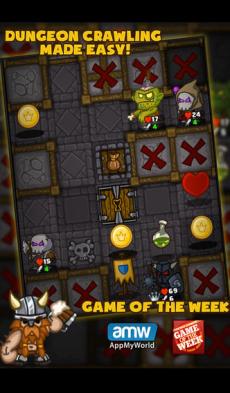 Dungelot iPhoneアプリ