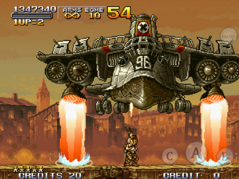 METAL SLUG X iPadアプリ