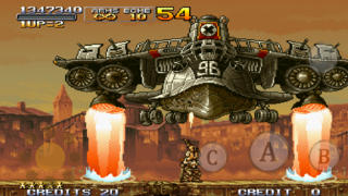 METAL SLUG X iPhoneアプリ