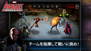 Avengers Alliance iPhoneアプリ