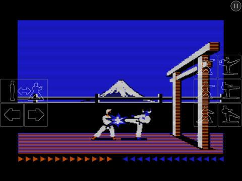 Karateka Classic iPadアプリ