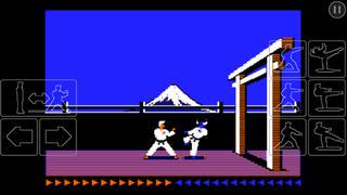 Karateka Classic iPhoneアプリ