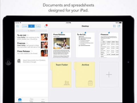 Quip iPadアプリ