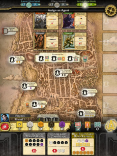 D&D Lords of Waterdeep iPadアプリ