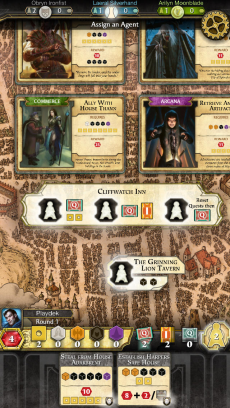 D&D Lords of Waterdeep iPhoneアプリ