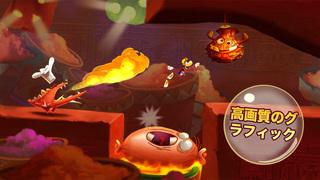 Rayman Fiesta Run iPhoneアプリ