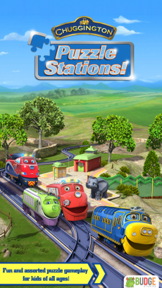 チャギントン・パズルステーションズ (Chuggington Puzzle Stations!) - 幼稚園児、保育園児用の、ためになるジグソーパズル iPhoneアプリ