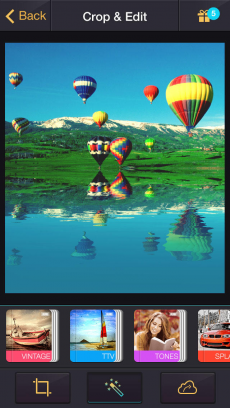 Reflection - 水に反射した画像を自動で作る iPhoneアプリ