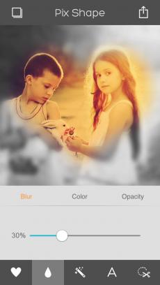 Pix Shape - 写真加工・画像編集 iPhoneアプリ