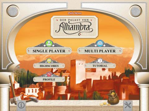 Alhambra Game iPadアプリ