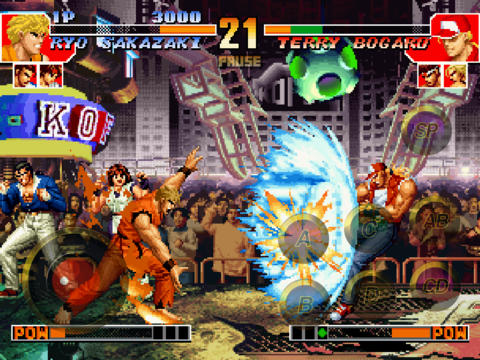 THE KING OF FIGHTERS '97 iPadアプリ