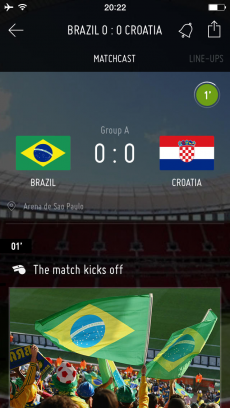 FIFA - Soccer News & Scores iPhoneアプリ