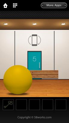 脱出ゲーム DOOORS 3 iPhoneアプリ