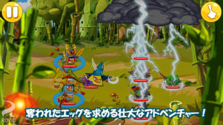 Angry Birds Epic RPG iPhoneアプリ
