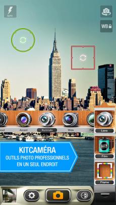 KitCamera. iPhoneアプリ